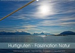 Cover-Bild zu Hurtigruten - Faszination Natur (Wandkalender 2022 DIN A2 quer) von Eisold, Hanns-Peter