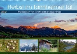 Cover-Bild zu Herbst im Tannheimer Tal - Impressionen von Schattwald bis Nesselwängle (Wandkalender 2022 DIN A2 quer) von Eisold, Hanns-Peter