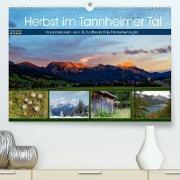 Cover-Bild zu Herbst im Tannheimer Tal - Impressionen von Schattwald bis Nesselwängle (Premium, hochwertiger DIN A2 Wandkalender 2022, Kunstdruck in Hochglanz) von Eisold, Hanns-Peter
