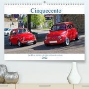 Cover-Bild zu Cinquecento Der kleine Italiener - 60 Jahre zeitloses Kultobjekt (Premium, hochwertiger DIN A2 Wandkalender 2022, Kunstdruck in Hochglanz) von Eisold, Hanns-Peter