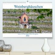 Cover-Bild zu Weinberghäuschen - Schutz- und Werkzeughaus für den Weingärtner (Premium, hochwertiger DIN A2 Wandkalender 2022, Kunstdruck in Hochglanz) von Eisold, Hanns-Peter