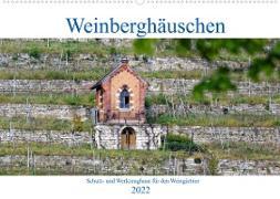 Cover-Bild zu Weinberghäuschen - Schutz- und Werkzeughaus für den Weingärtner (Wandkalender 2022 DIN A2 quer) von Eisold, Hanns-Peter