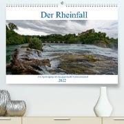 Cover-Bild zu Der Rheinfall - Ein Spaziergang um das gigantische Naturschauspiel (Premium, hochwertiger DIN A2 Wandkalender 2022, Kunstdruck in Hochglanz) von Eisold, Hanns-Peter