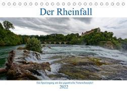 Cover-Bild zu Der Rheinfall - Ein Spaziergang um das gigantische Naturschauspiel (Tischkalender 2022 DIN A5 quer) von Eisold, Hanns-Peter