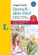 Cover-Bild zu Langenscheidt Deutsch - alles drin! - Basiswissen Deutsch in einem Band von Langenscheidt, Redaktion (Hrsg.)