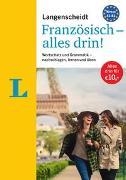 Cover-Bild zu Langenscheidt Französisch - alles drin! - Basiswissen Französisch in einem Band von Langenscheidt, Redaktion (Hrsg.)