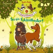 Cover-Bild zu Die Haferhorde - Teil 8: So ein Fohlentheater! von Kolb, Suza