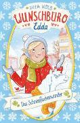 Cover-Bild zu Wunschbüro Edda - Das Schneeflockenwunder von Kolb, Suza