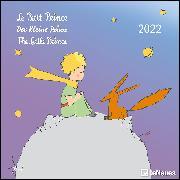 Cover-Bild zu Saint-Exupéry, Antoine de: Der Kleine Prinz 2022 - Wand-Kalender - Broschüren-Kalender - 30x30 - 30x60 geöffnet - Kinder-Kalender - Illustrationen
