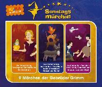 Cover-Bild zu KI.KA Sonntagsmärchen - Hörspielbox Vol. I (Audio Download) von Grimm, Wilhelm Carl