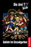 Cover-Bild zu Blanck, Ulf: Die drei ??? Kids, 6, Gefahr im Gruselgarten