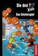 Cover-Bild zu Pfeiffer, Boris: Die drei ??? Kids, 87, Das Geisterspiel (drei Fragezeichen Kids) (eBook)