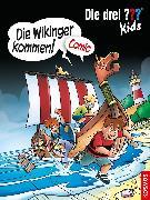 Cover-Bild zu Hector, Christian: Die drei ??? Kids, Die Wikinger kommen! (drei Fragezeichen Kids) (eBook)