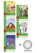 Cover-Bild zu Rainbow Library 4. 5 Hefte + Audio-CD von Brockmann-Fairchild, Jane