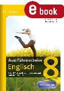 Cover-Bild zu Auer Führerscheine Englisch 8 (eBook) von Jung, Christine