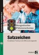 Cover-Bild zu Führerschein: Satzzeichen - Sekundarstufe von Heidemann, Tim
