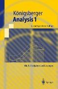 Cover-Bild zu Analysis 1 von Königsberger, Konrad