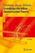 Cover-Bild zu Grundzüge der mikroökonomischen Theorie von Schumann, Jochen