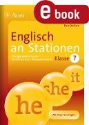 Cover-Bild zu Englisch an Stationen Klasse 7 (eBook) von Oldham, Pete