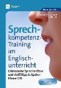 Cover-Bild zu Sprechkompetenz-Training im Englischunterricht 7-8 von Kleinschroth, Robert