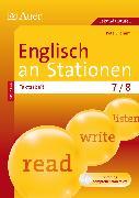 Cover-Bild zu Englisch an Stationen spezial Textarbeit 7-8 von Oldham, Pete