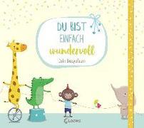 Cover-Bild zu Reider, Katja: Du bist einfach wundervoll - Dein Babyalbum