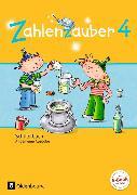 Cover-Bild zu Zahlenzauber 4. Schuljahr. Allgemeine Ausgabe - Neubearbeitung 2016. Schülerbuch mit Kartonbeilagen von Betz, Bettina