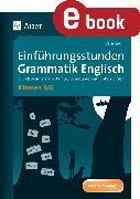 Cover-Bild zu Einführungsstunden Grammatik Englisch Klassen 5-6 (eBook) von Knoll, Vera