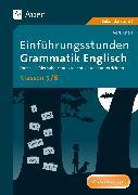 Cover-Bild zu Einführungsstunden Grammatik Englisch Klassen 5-6 von Knoll, Vera
