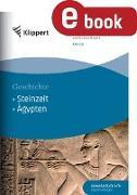 Cover-Bild zu Steinzeit - Ägypten (eBook) von Elz, Julia