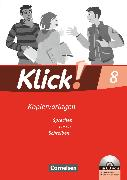 Cover-Bild zu Klick! Deutsch, Westliche Bundesländer, 8. Schuljahr, Sprechen, Lesen, Schreiben, Kopiervorlagen mit CD-ROM von Angel, Margret