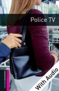 Cover-Bild zu Police TV - With Audio Starter Level Oxford Bookworms Library (eBook) von Vicary, Tim