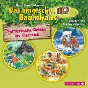 Cover-Bild zu Fantastische Reisen ins Tierreich. Die Hörbuchbox von Pope Osborne , Mary
