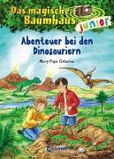Cover-Bild zu Das magische Baumhaus junior (Band 1) - Abenteuer bei den Dinosauriern von Pope Osborne, Mary