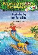 Cover-Bild zu Das magische Baumhaus junior (Band 25) - Bedrohung im Paradies von Pope Osborne, Mary