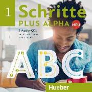 Cover-Bild zu Schritte plus Alpha Neu 1. 2 Audio-CDs zum Kursbuch von Böttinger, Anja