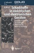 Cover-Bild zu Schadstoffe in elektrischen und elektronischen Geräten von Blum, Bernhard