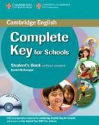 Cover-Bild zu McKeegan, David: Complete Key for Schools. Student's Pack without Answers