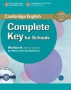 Cover-Bild zu Elliott, Sue: Complete Key for Schools Workbook without Answers