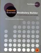 Cover-Bild zu Essential Business Vocabulary Builder Students Book Pack von Emmerson, Paul