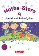Cover-Bild zu Mathe-Stars, Knobel- und Sachaufgaben, 4. Schuljahr, Übungsheft, Mit Lösungen von Hatt, Werner
