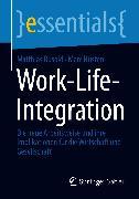 Cover-Bild zu Work-Life-Integration (eBook) von Busold, Matthias