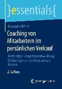 Cover-Bild zu Coaching von Mitarbeitern im persönlichen Verkauf (eBook) von Tiffert, Alexander