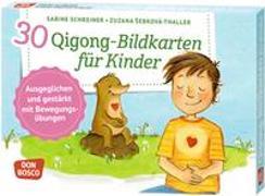 Cover-Bild zu 30 Qigong-Bildkarten für Kinder von Schreiner, Sabine