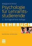 Cover-Bild zu Psychologie für Lehramtsstudierende (eBook) von Imhof, Margarete