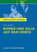 Cover-Bild zu Romeo und Julia auf dem Dorfe. Königs Erläuterungen (eBook) von Freund-Spork, Walburga