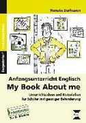 Cover-Bild zu Anfangsunterricht Englisch - My Book About Me von Zerhusen, Renate