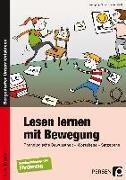 Cover-Bild zu Lesen lernen mit Bewegung von Finck, Wolfgang
