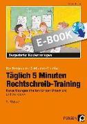 Cover-Bild zu Täglich 5 Minuten Rechtschreib-Training - 3.Klasse (eBook) von Hohmann, Karin