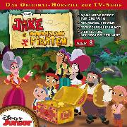 Cover-Bild zu Disney - Jake und die Nimmerland Piraten - Folge 8 (Audio Download) von Bingenheimer, Gabriele